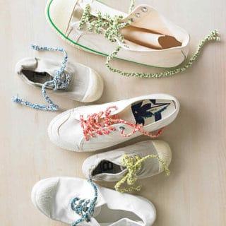 A Stylish Knot: 15 Creative Shoe Lace Designs