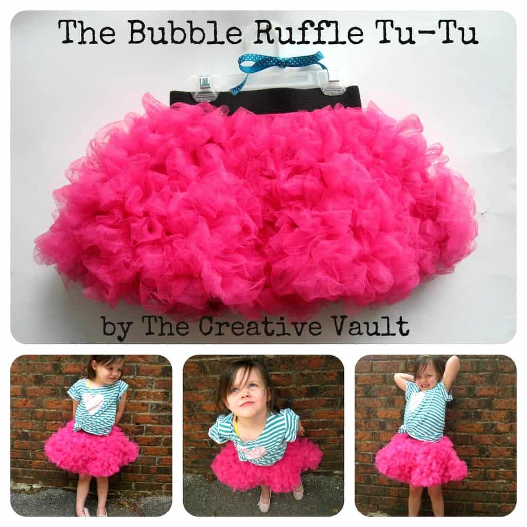 Bubble ruffle tutu
