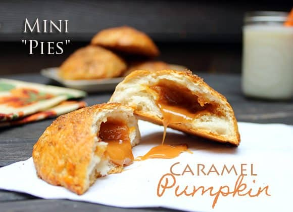 Caramel mini pies