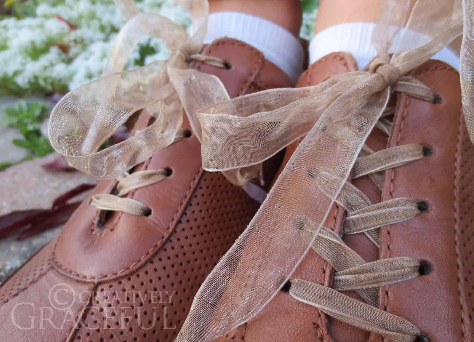 Chiffon ribbon laces