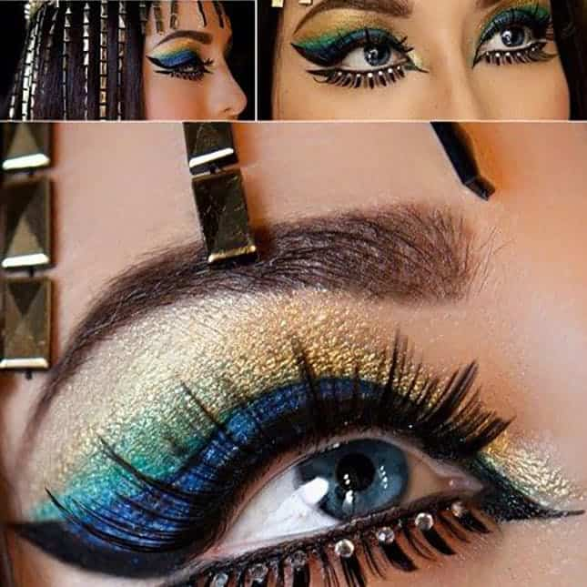 Cleopatra inspired makeup