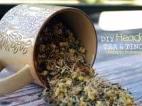 DIY headache tea and tincture 200x150 Gearing up for Winter: 15 Natural DIY Headache Remedies