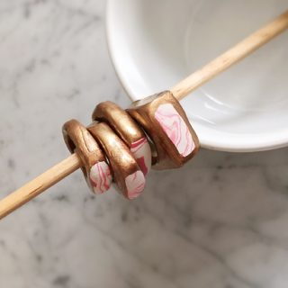 A Trending Style Statement: 15 Chic Polymer Clay Ring Designs to Try Out