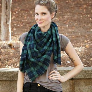 10 Super Fun Ways to DIY a Cozy Blanket Scarf