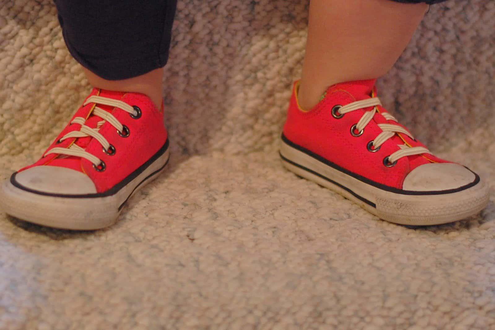 Elastic no-tie shoelaces