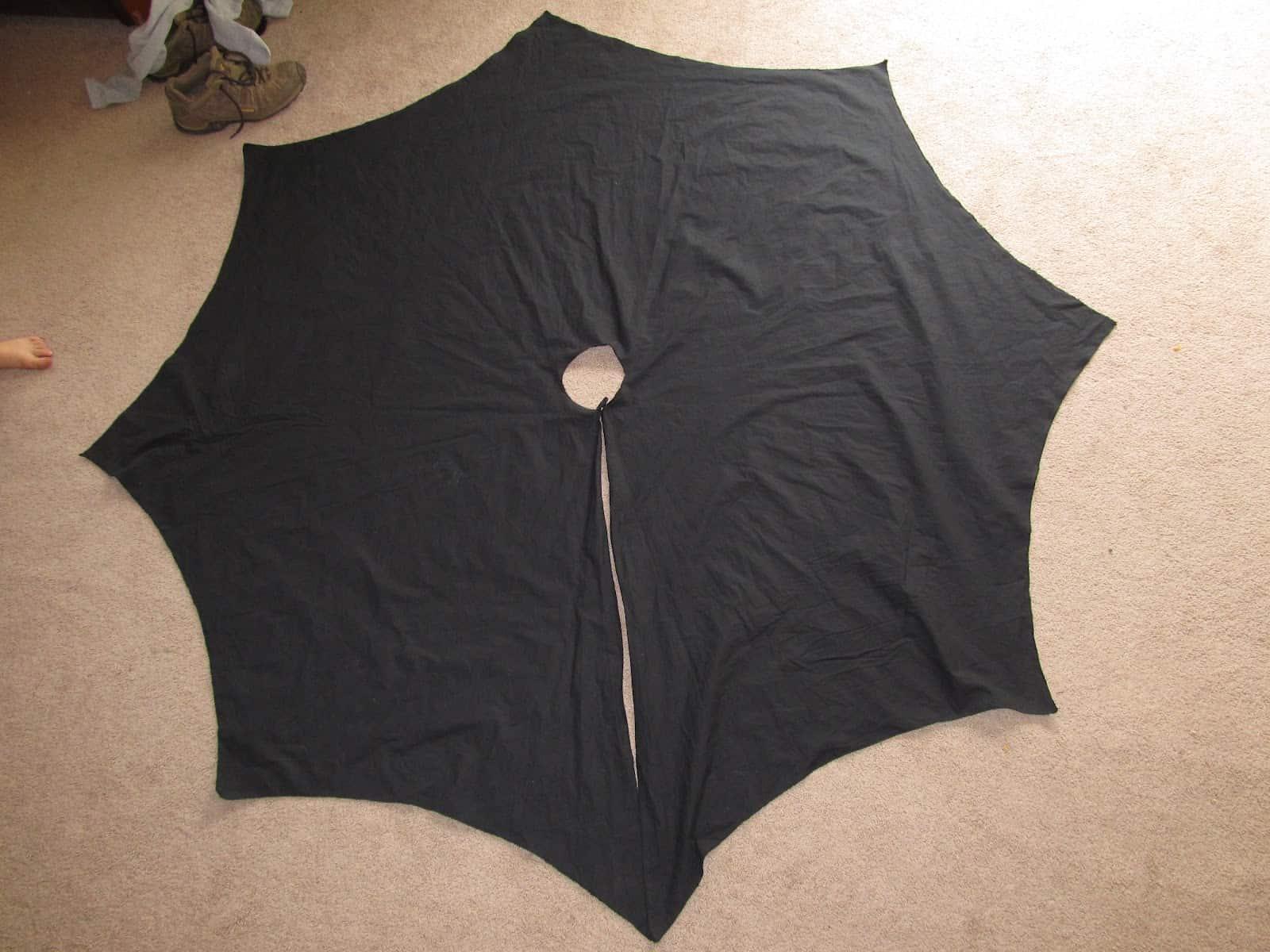 Full circle Batman cape