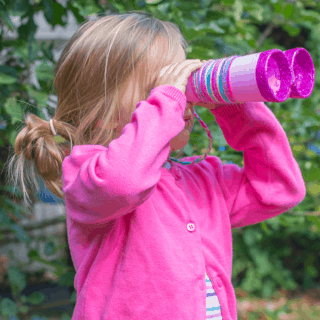 13 DIY Binoculars for Curious and Adventurous Kids
