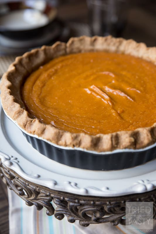Homemade sweet potato pie
