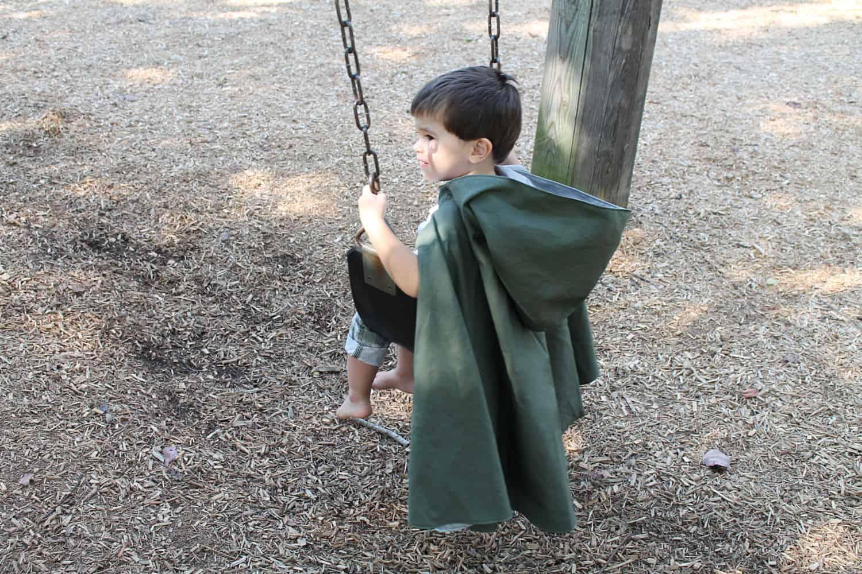 Hooded Robin Hood cape
