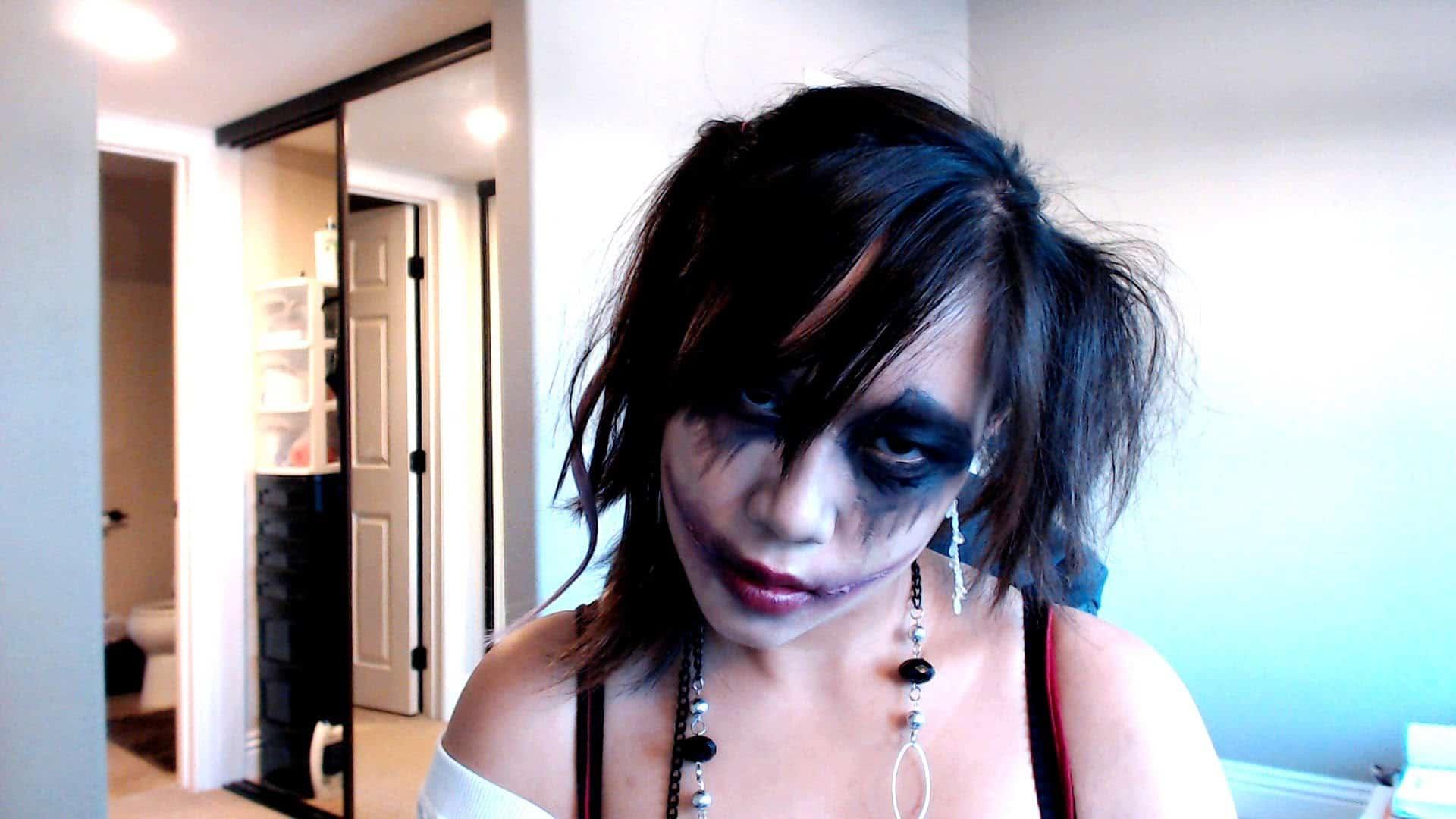 Joker inspired makeup