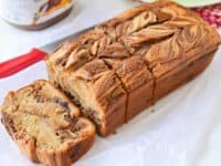 Nutella swirl banana bread 200x150 15 Delicious Dessert Bread Recipes
