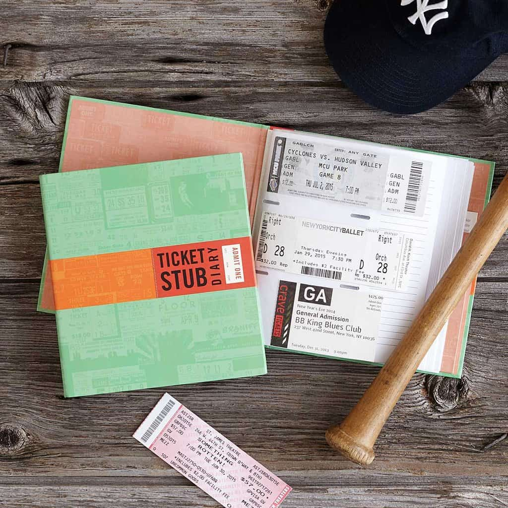 A Cherished Memory Creative Ways To Save Concert Ticket Stubs