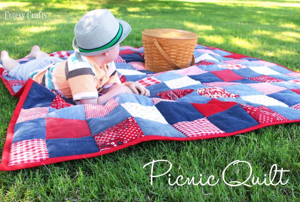 Picnic quilt blanket