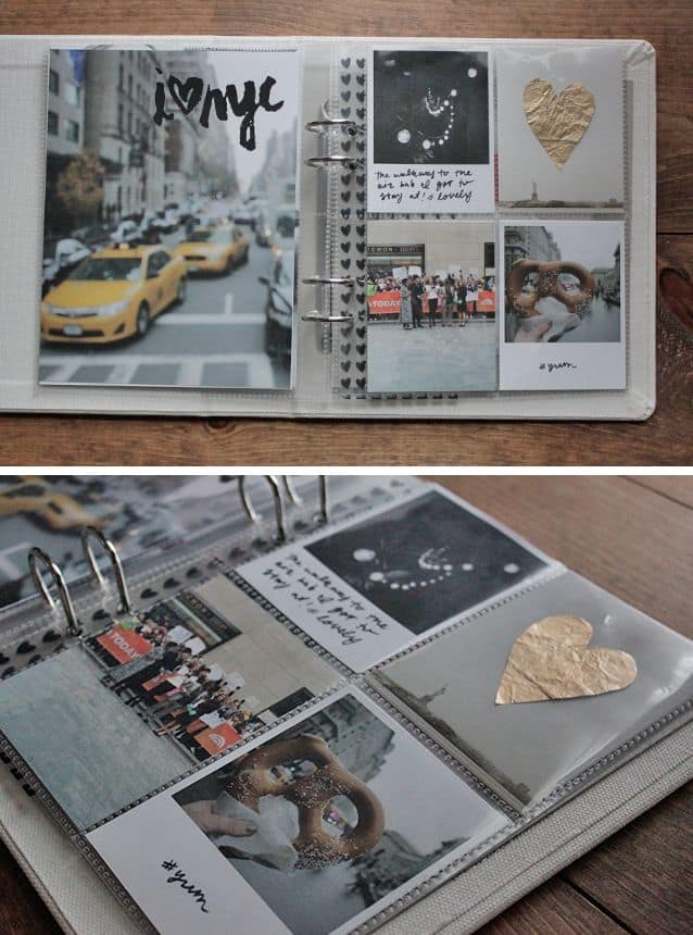 Pocket pages photo album