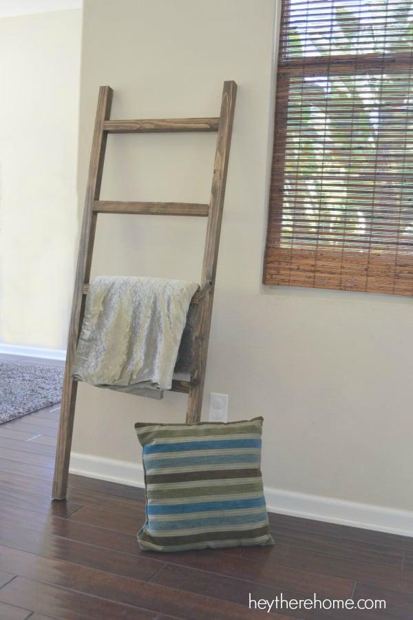 Pottery barn blanket ladder