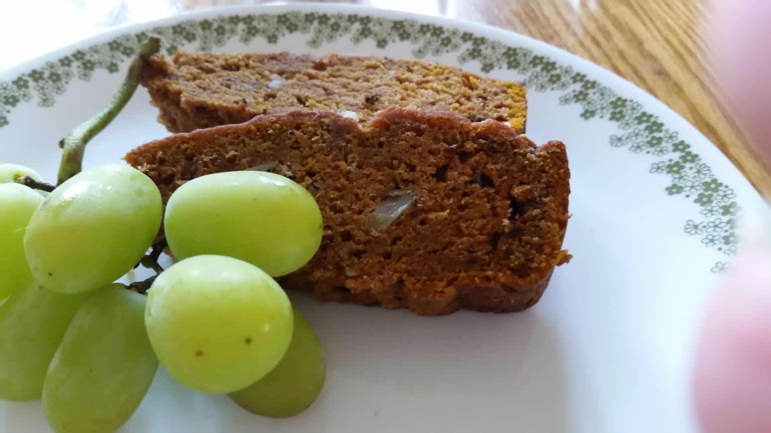 Pumpkin dessert bread