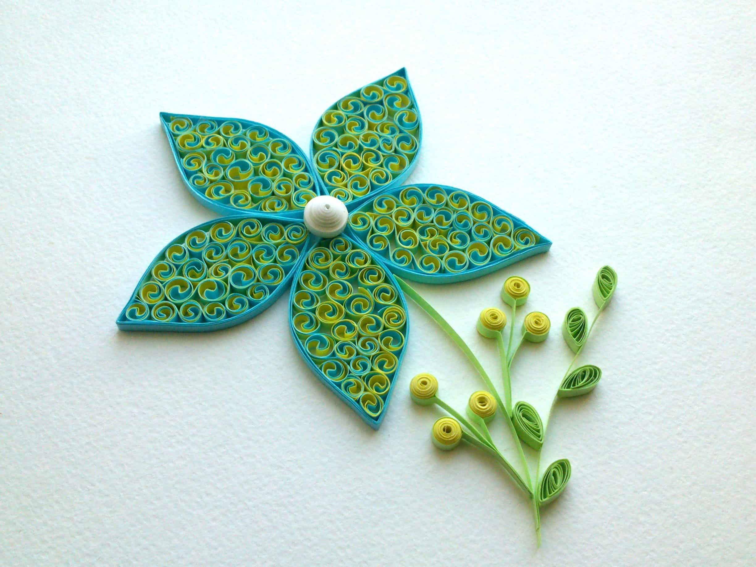 Simple Paper Quilling Flower Designs Flowers Healthy
