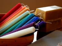 Rainbow rolled beeswac candles 200x150 Incandescent Delights: 15 Lovely DIY Candles to Try Out this Holiday Season