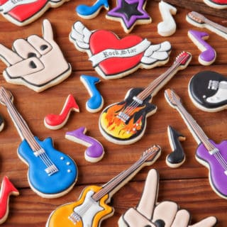 15 Inspirational DIY Projects That Celebrate Rock Music