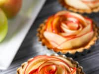 Salted caramel apple tartlets 200x150 15 Desserts That Are Perfect For Fall