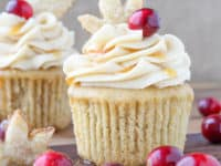 Spiced apple cider cranberry cupcakes 200x150 15 Desserts That Are Perfect For Fall