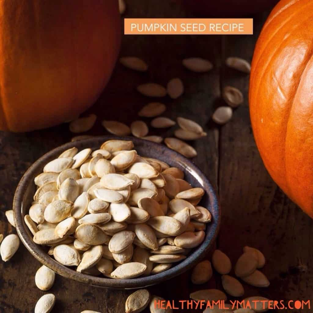 Spiced but and Masala roasted pumpkin seeds