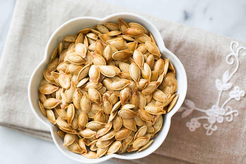 Standard salt and olive oil roasted pumpkin seeds