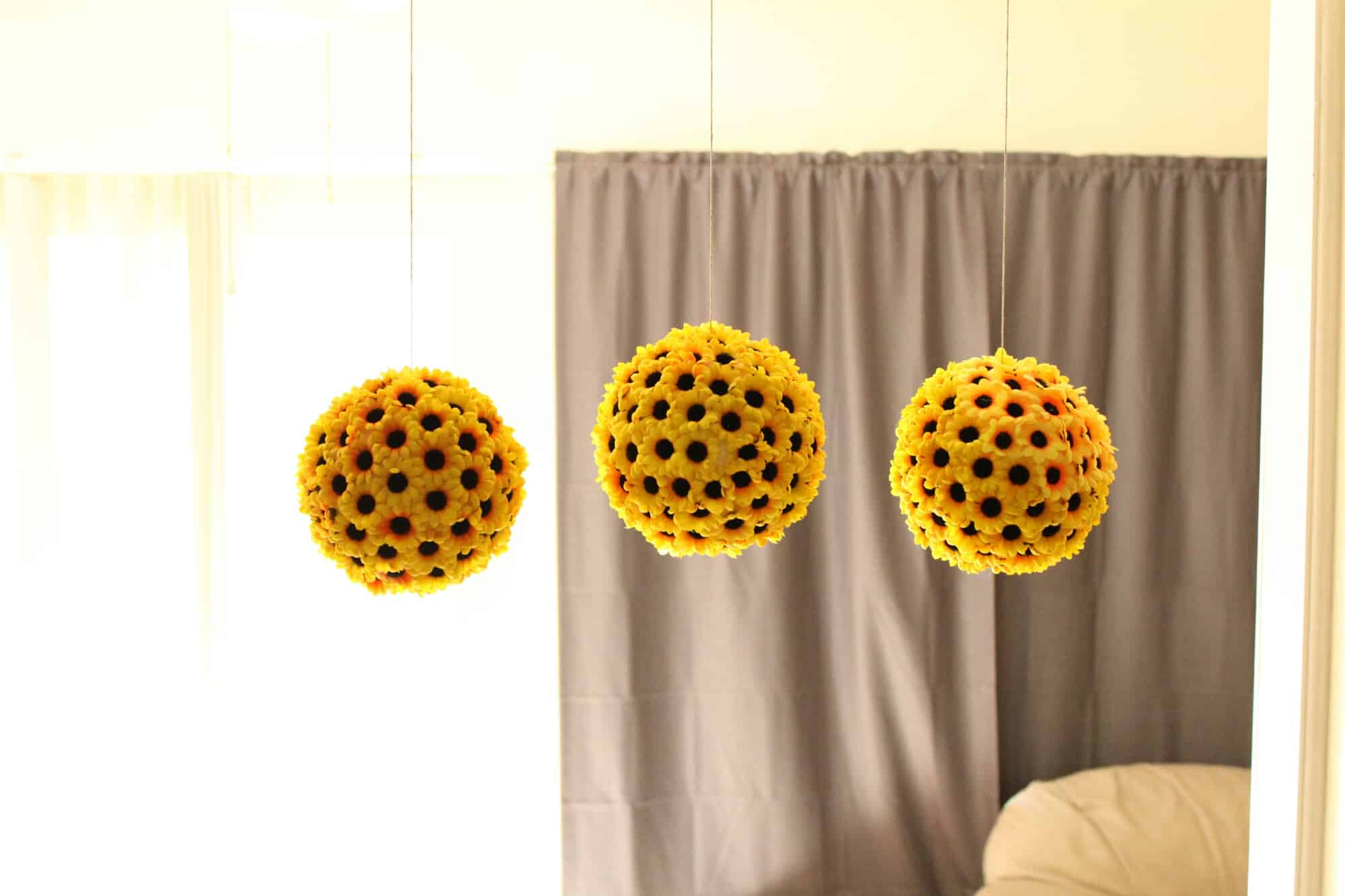 Sunflower balls