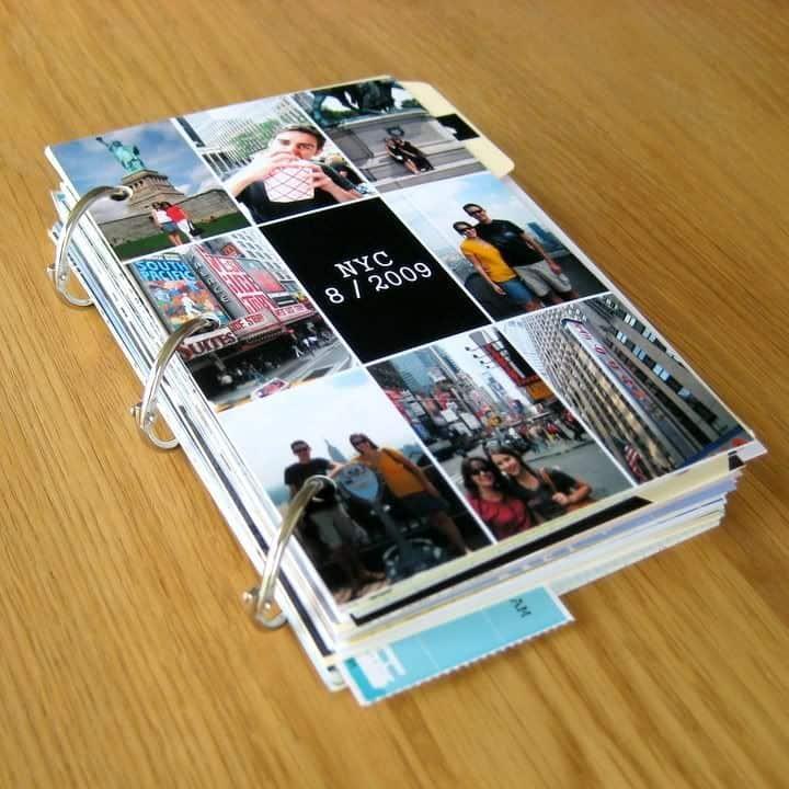 Three-ring photo journal