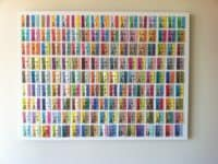 Ticket stub wall art 200x150 A Cherished Memory: Creative Ways to Save Concert Ticket Stubs