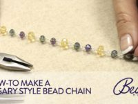 Tips for making a rosary bead chain using jewelry pliers 200x150 15 DIY Rosaries That Make Gorgeous Gifts