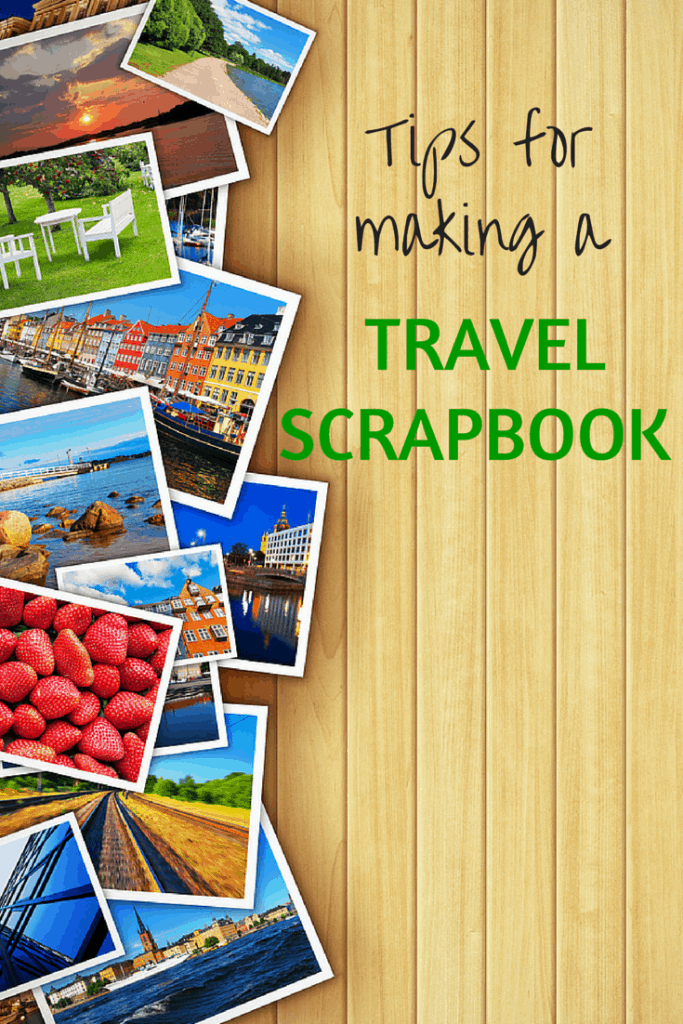 Travel scrapbook tips and tricks