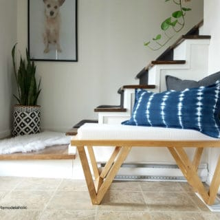 An Unconventional Interior: DIY Indoor Benches