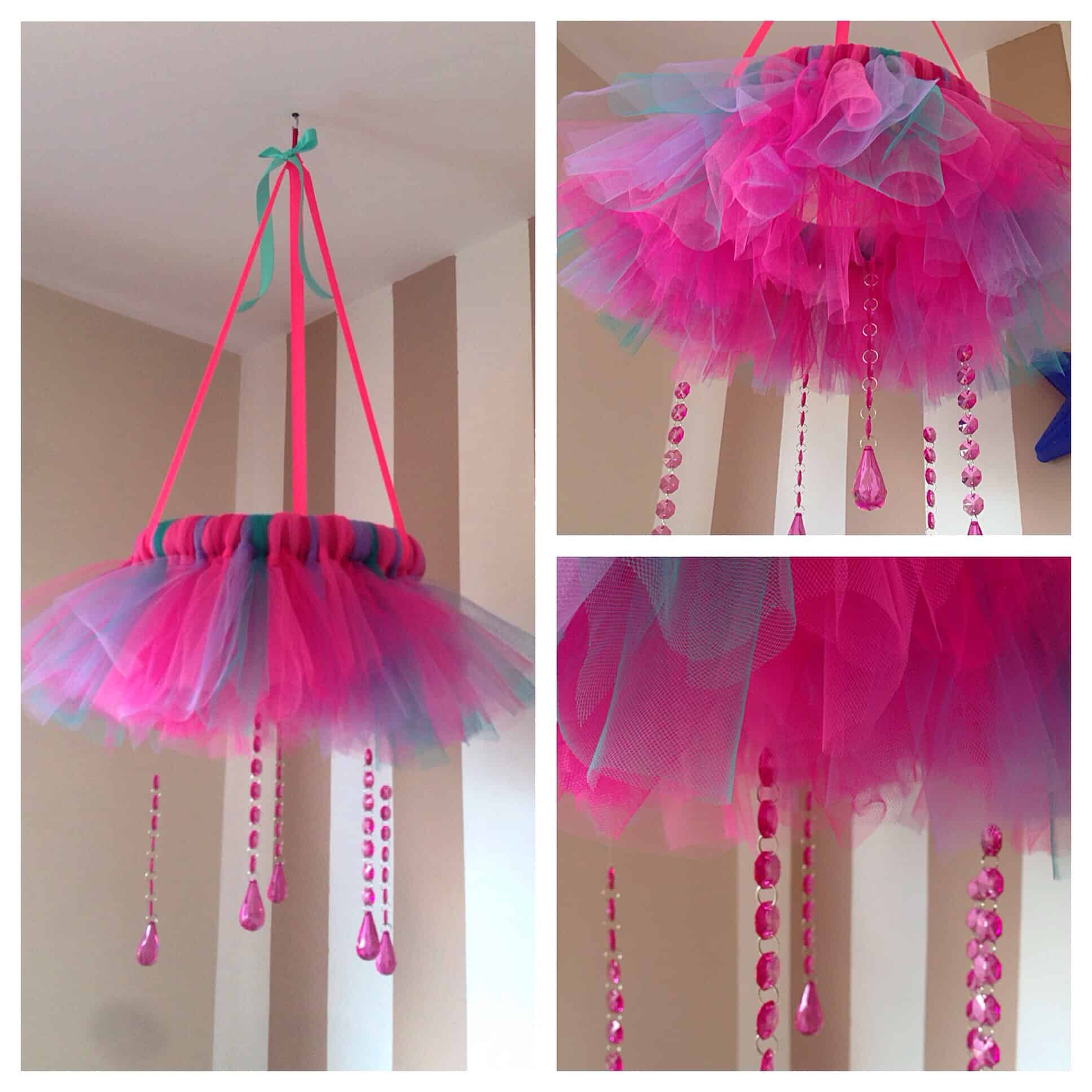 13 Tutu And Bead Hanging Mobile
