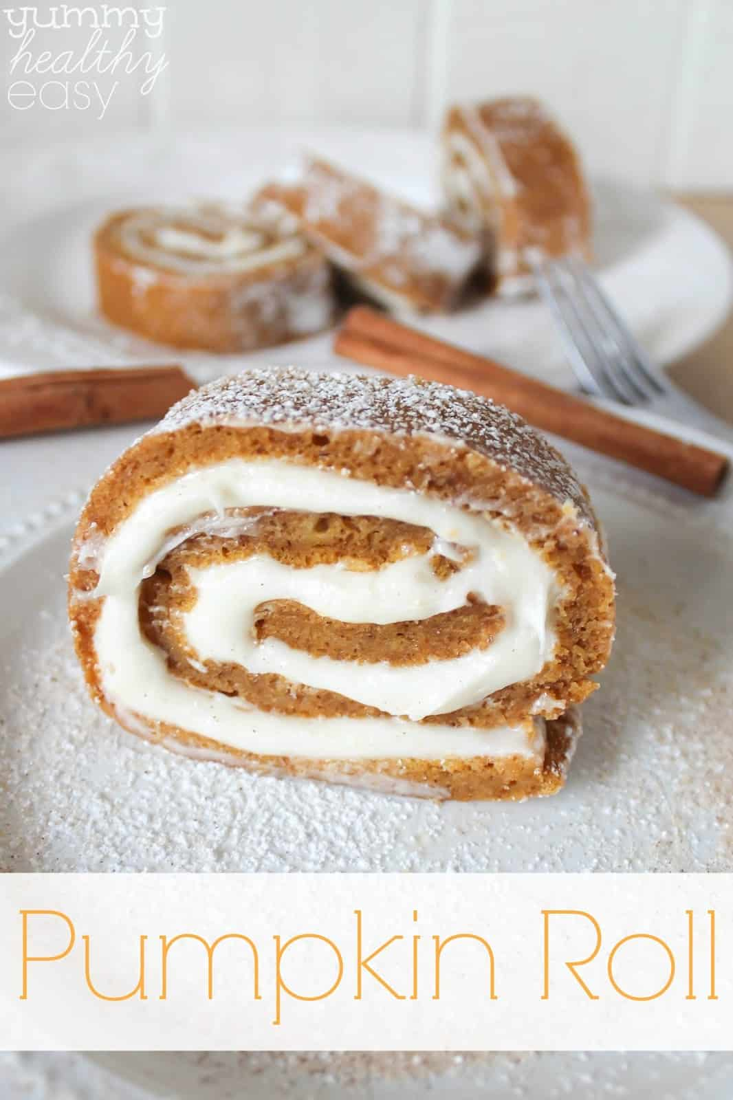 Wasy pumpkin roll