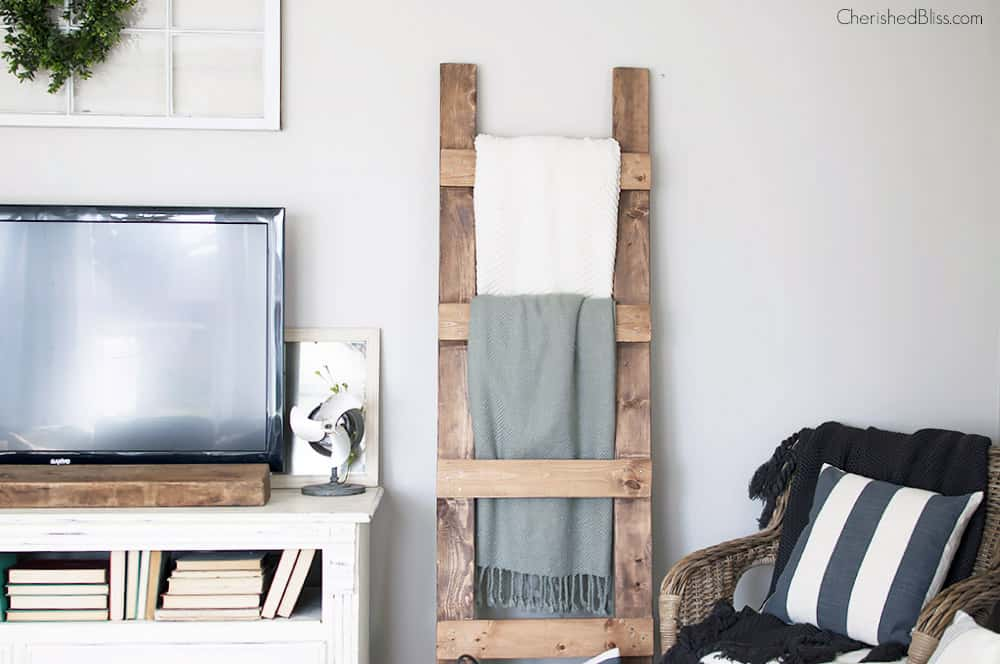 Wood Shelving Ideas For Living Room