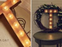 Superstar Home Decor: 12 DIY Marquee Lights