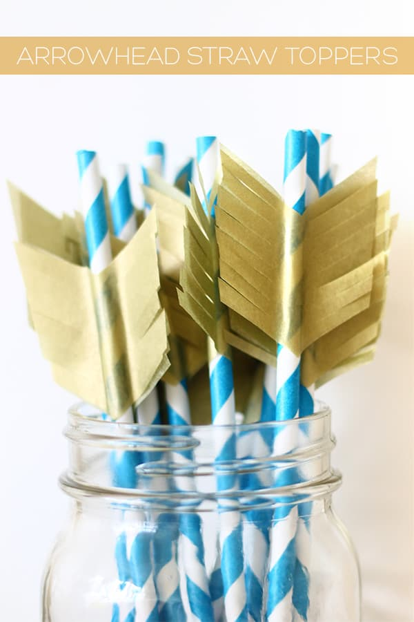 Arrowhead straws