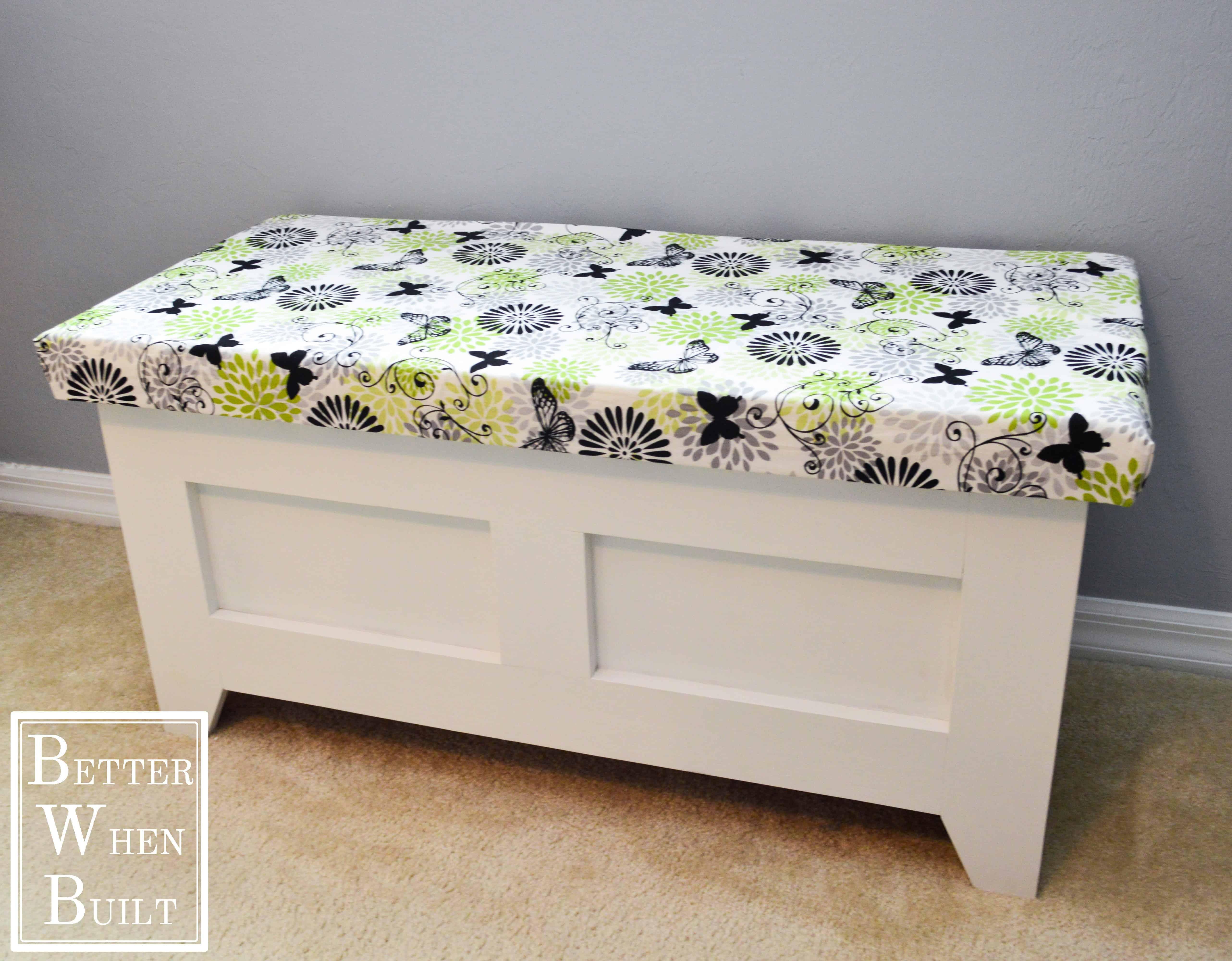 Bench storage chest