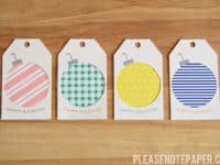 Christmas Gift Tags Diy.13 Unique And Festive Diy Gift Tags To Spice Up Your
