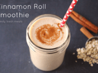 Cinnamon roll smoothie 200x150 13 Recipes That Prove Cinnamon is the Best Spice