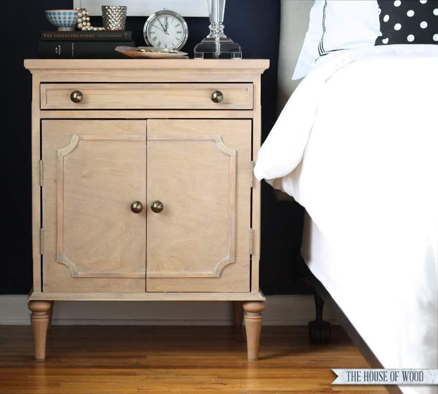 Cupboard nightstand