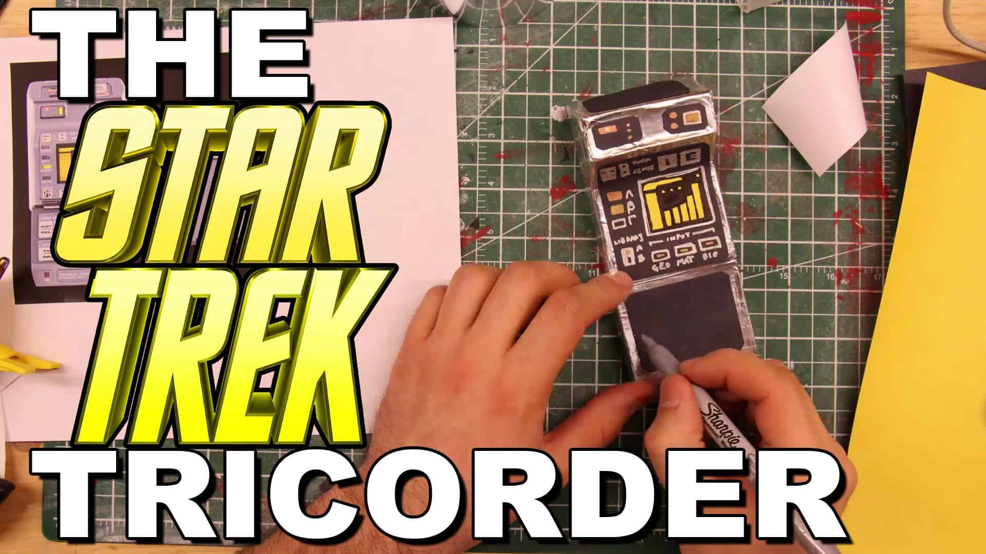 DIY Star Trek tricorder