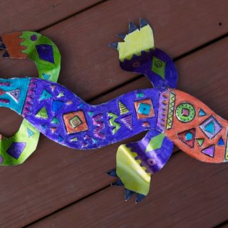 15 Fun Lizard Themed DIY Projects