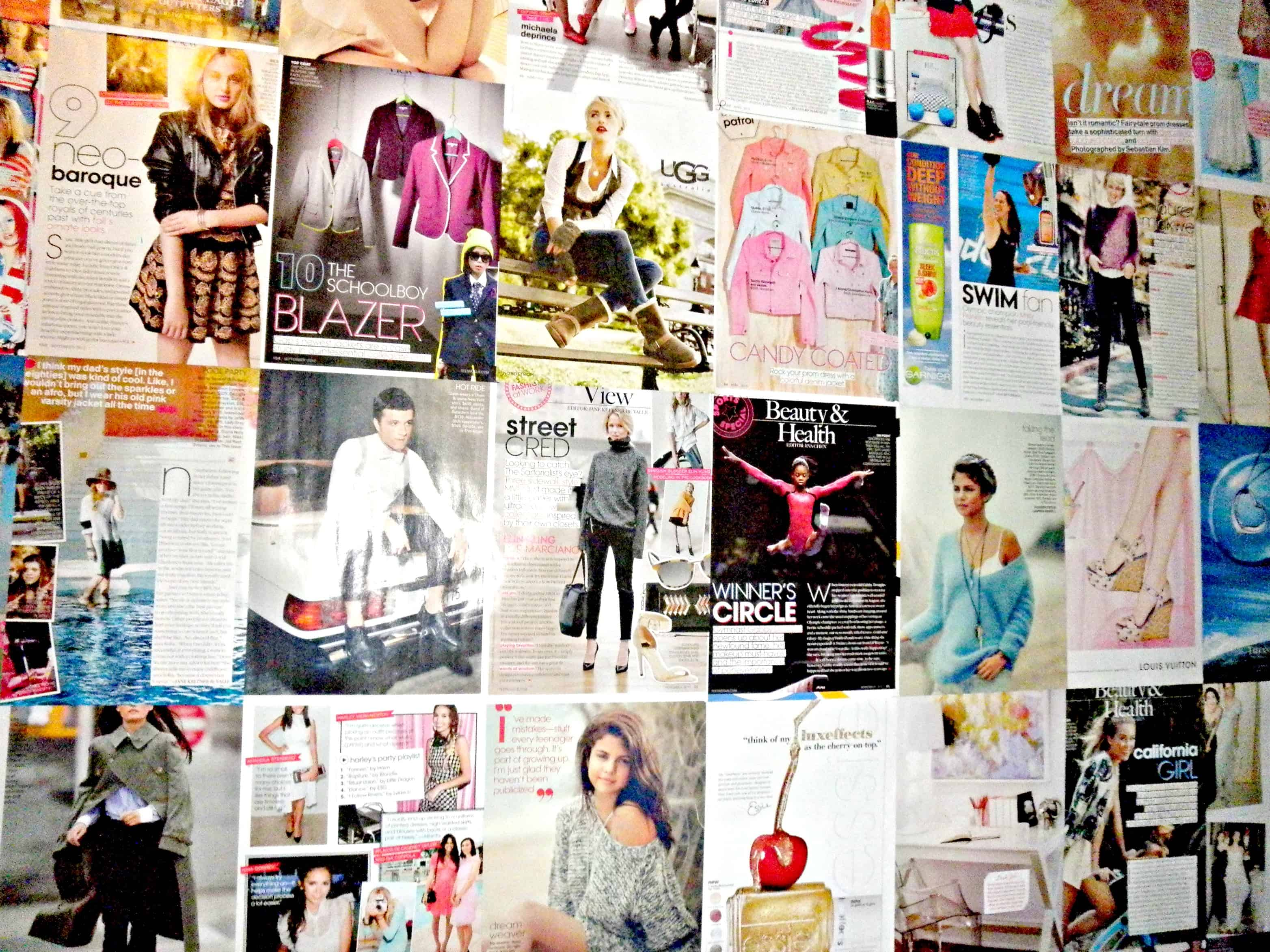 Fashion Inspiration Wall Canvas