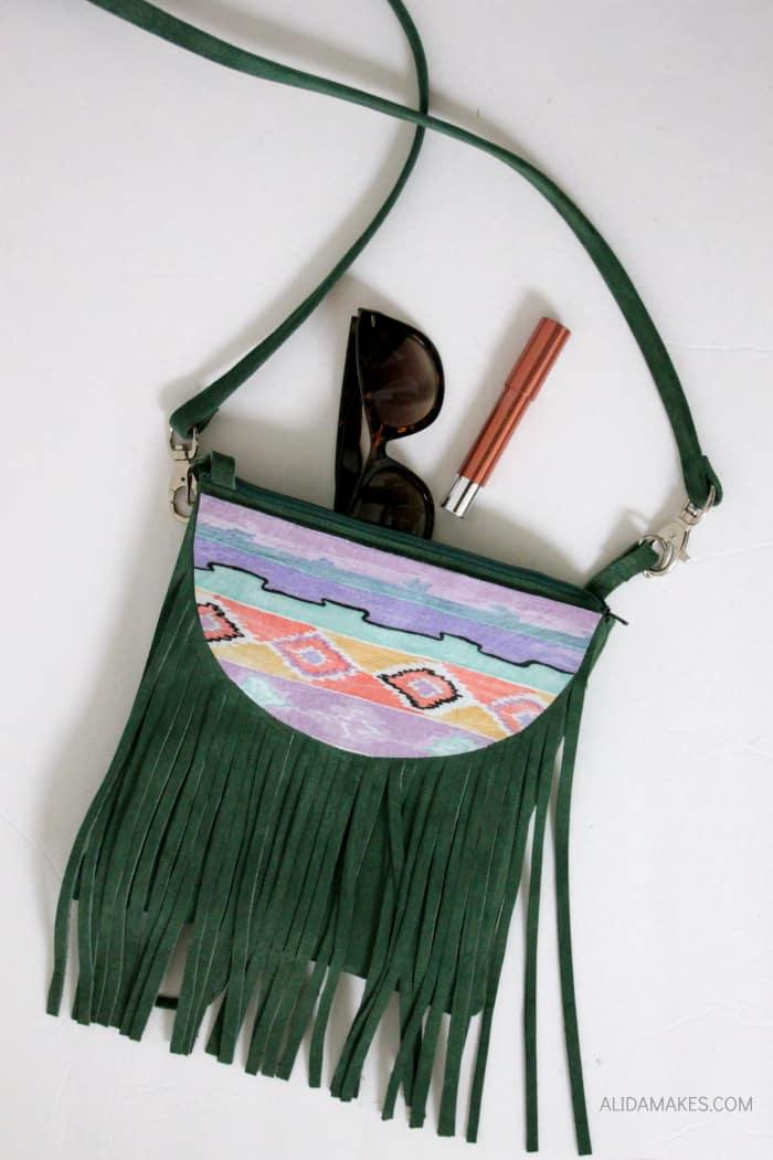 Fringe festival purse
