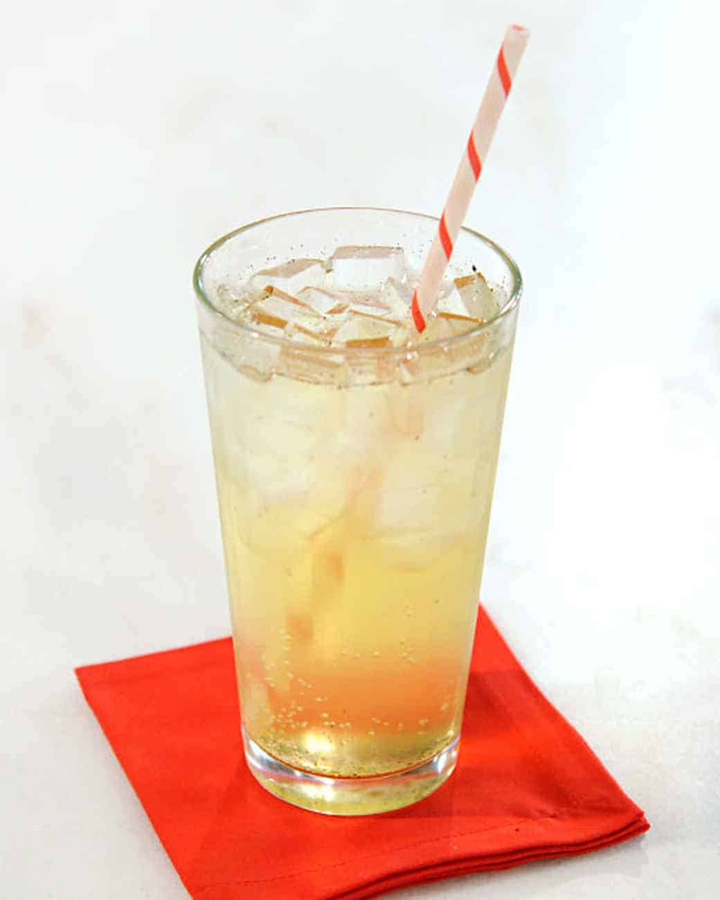 Homemade cream soda simple syrup