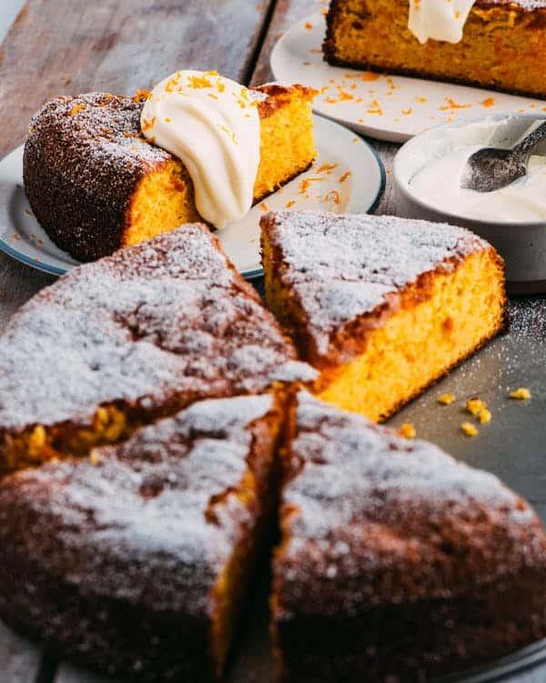 Italian carrot cake