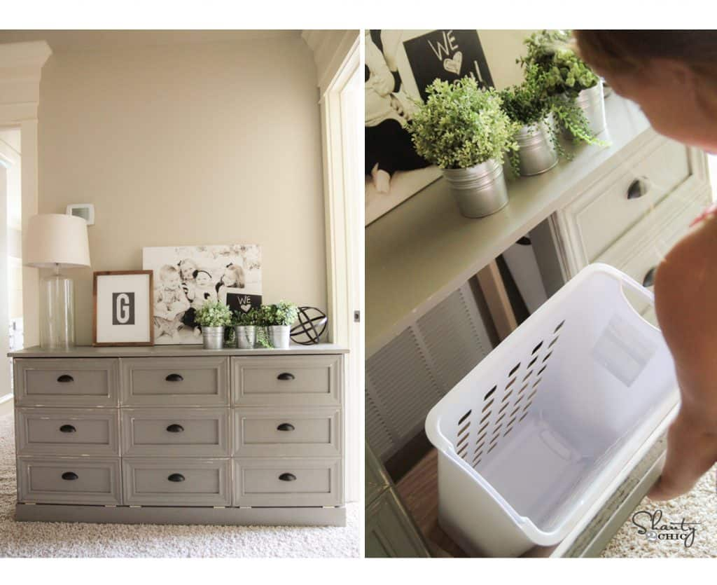Laundry dresser