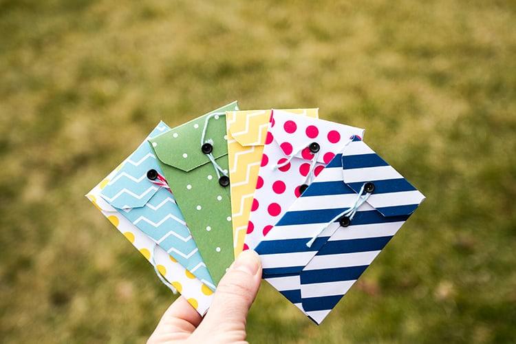 Miniature envelopes